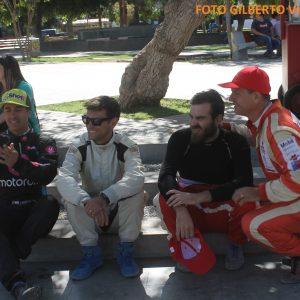 01 L uis Ignacio Rosselot con Alvaro Léon y hermano Jaime y Felipe Prohens (Foto Gilberto Villarroel H.)
