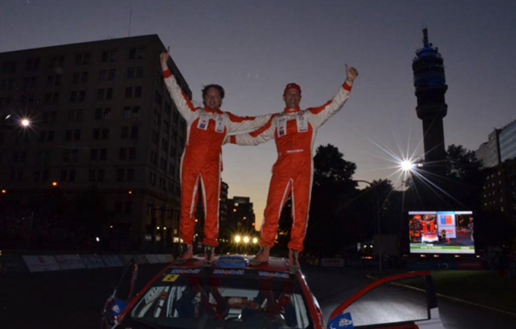 Copa de las Naciones, RallyMobil, 2012