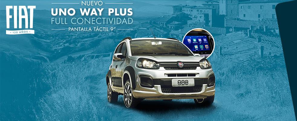 Banner Fiat Uno Way 1.4 Evo Plus