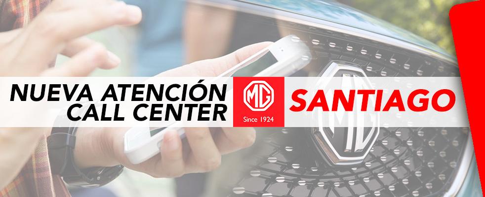 Banner CALL CENTER MG SANTIAGO