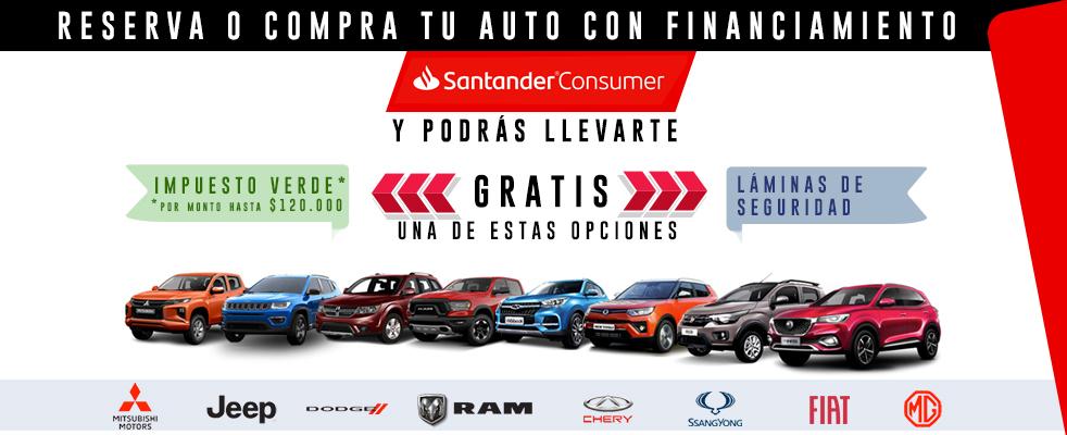Banner RESERVA O COMPRA TU AUTO CON FINANCIAMIENTO