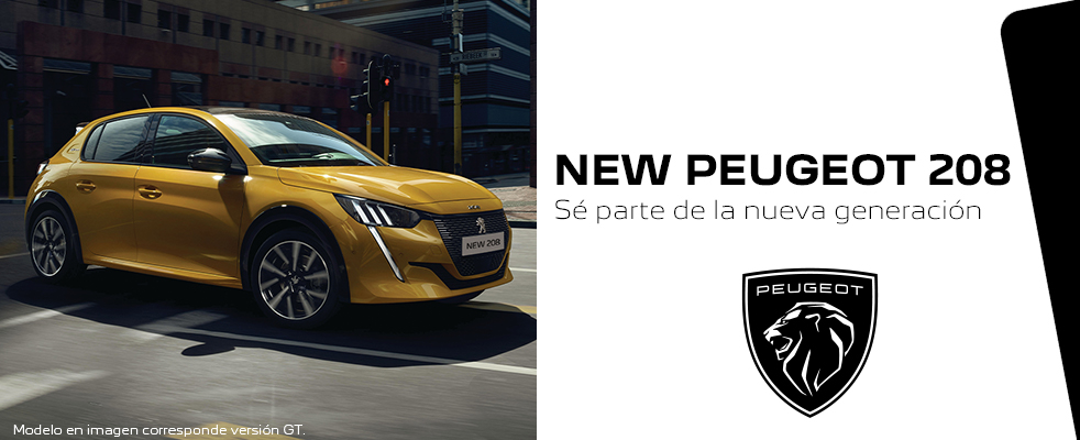 Banner New Peugeot 208